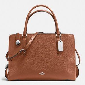 Coach bag Women's Pebbled Brooklyn 34 Carryall